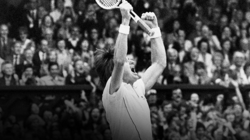 "Jimmy Connors, ""This Is What They Want"" - Foto: Reprodução/ESPN"